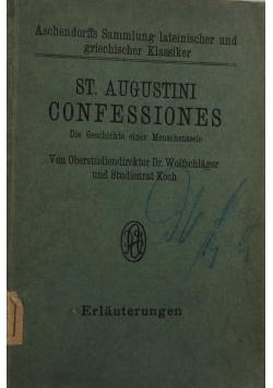 St. Augustini Confessiones, 1924 r.