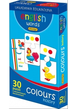English words Colours
