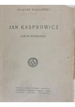 Jan Kasprowicz, 1922 r.