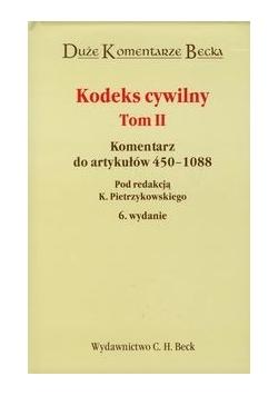 Kodeks Cywilny tom 2: Komentarz do artykułów 450 - 1088