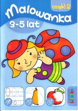 Malowanka 3-5 lat cz. 2 LITERKA