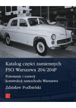Katalog części zamiennych FSO Warszawa 204/204P