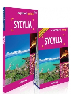 Explore! guide light - Sycylia (przewodnik + mapa)