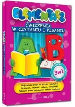Elementarz - Ćwiczenia w czytaniu i pisaniu Greg