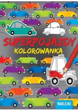 Kolorowanki Superpojazdy