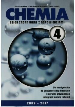 Chemia 4 Zbiór zadań wraz z odpowiedziami Zestaw obowiązkowych ćwiczeń laboratoryjnych Arkusze wraz z odpowiedziami i kluczami punktowania
