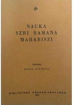 Nauka Szri Ramana Mahariszi