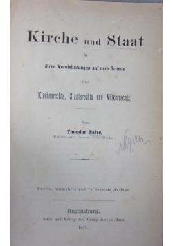 Kirche und Staat 1881 r.