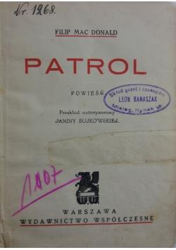 Patrol, 1931 r.