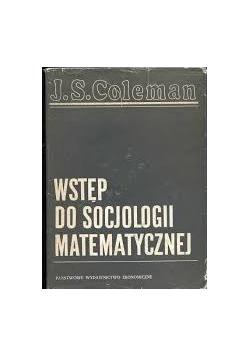 Wstęp do socjologii matematycznej