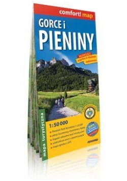 Comfort!map Gorce i Pieniny 1:50 000 mapa