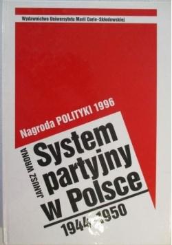System partyjny w Polsce 1944-1950