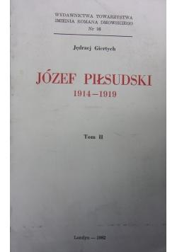 Józef Piłsudski 1914-1919