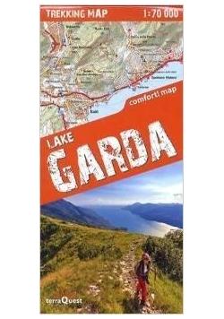 Trekking map jezioro Garda 1:70 000  mapa
