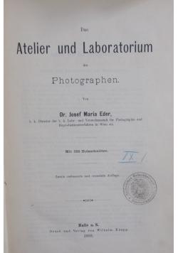 Atelier und Laboratorium , 1893 r.