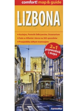 Lizbona 2w1 przewodnik i mapa
