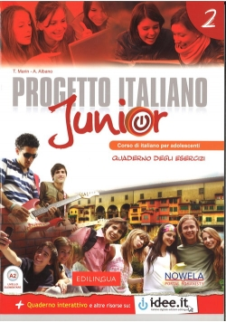 Progetto Italiano Junior 2 Zeszyt ćwiczeń