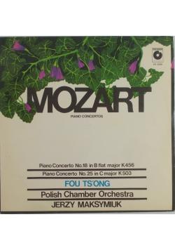 Mozart piano , płyta winylowa