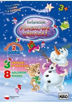 Piaskowe obrazki pakiet świąteczny 2