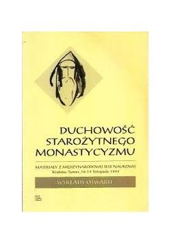 Duchowość starożytnego monastycyzmu