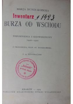 Inwentarz 1423. Burza od wschodu, 1925 r.