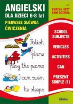Angielski dla dzieci z.08 6-8 lat LITERAT