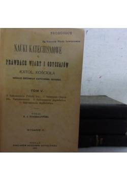 Nauki katechismowe o prawdach wiary i obyczajów, 1903r.
