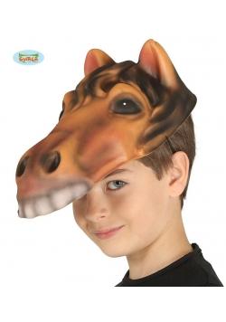 Dziecięca maska z pianki-Konik