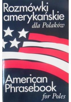 Rozmówki amerykańskie dla Polaków, American Phrasebook for Poles