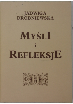 Myśli i refleksje 1952-1992