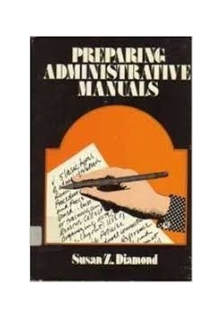 Preparing administrative manuals