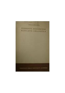 Elementy dynamiczne kończyn człowieka