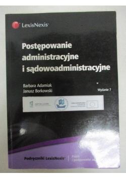 Adamiak Barbara - Postępowanie administracyjne i sądowoadministracyjne