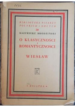 O klasyczności i romantyczności, 1948 r.