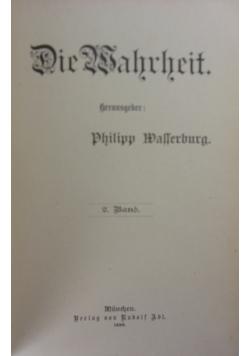 Die Wahrheit, 2. Band, 1896r.