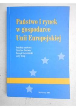 Państwo i rynek w gospodarce Unii Europejskiej