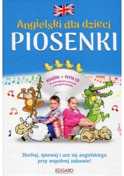 Angielski dla dzieci Piosenki z płytą CD