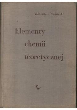 Elementy chemii teoretycznej