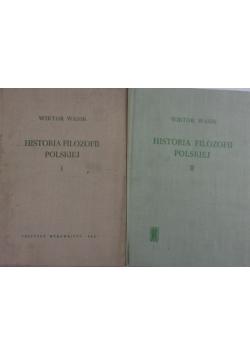 Historia filozofii polskiej Tom I-II