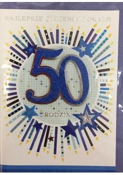 Karnet urodziny B6 Premium 65 + koperta