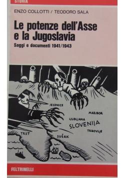 Le potenze dell'Assse e la Jugoslavia