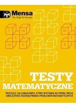 Mensa The High IQ Society. Testy matematyczne