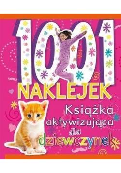 1001 naklejek.Książka aktywizująca dla dziewczynek