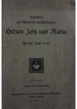 Bersen Jeju und Maria, 1941 r.