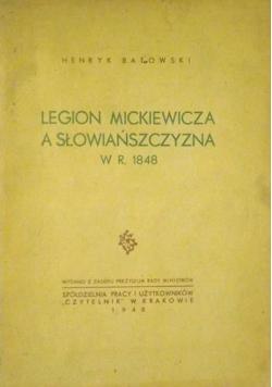 Legion Mickiewicza a Słowiańszczyzna w r.1848, 1948 r.