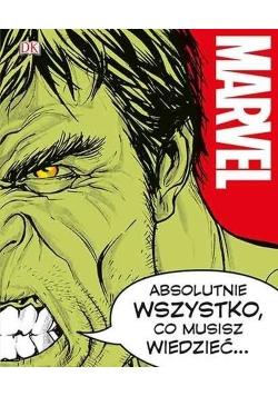 Marvel Absolutnie wszystko co musisz wiedzieć