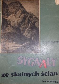 Sygnały ze skalnych ścian