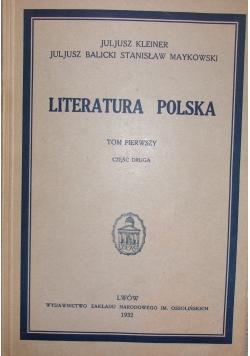 Literatura Polska, 1932 r.