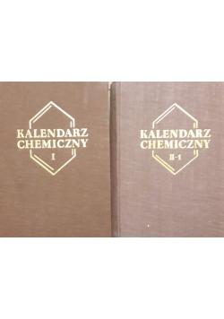 Kalendarz chemiczny cz. 1, cz. 2 Tom I