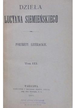 Portrety Literackie ,1881r.